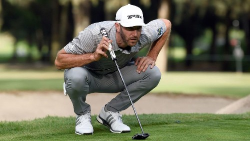 Dustin Johnson leads and Tiger Woods stays in contention at Mexico Championship