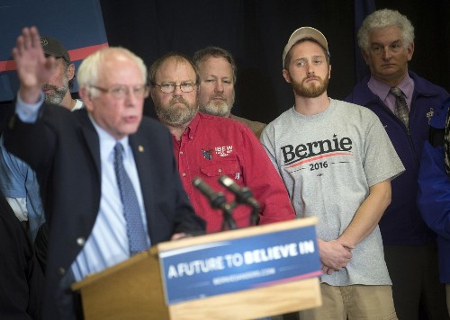 Who's a real progressive? Sanders and Clinton make their cases at New Hampshire town hall
