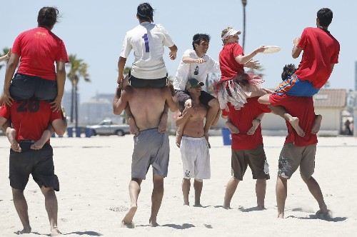 Hey dude, are you angry? Or is it just your red shirt? - Los Angeles Times