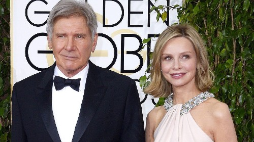Harrison Ford's wife, Calista Flockhart, with him at hospital after crash