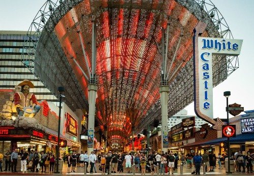 Las Vegas' Fremont Street to get a flashier video canopy