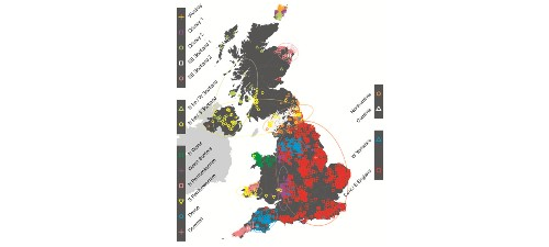 Study of Britain produces first fine-scale genetic map of a nation