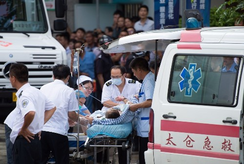 Explosion at Chinese auto parts factory kills 68, injures many more