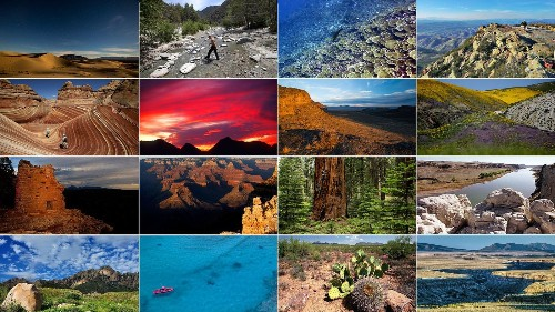 Here are the national monuments being reviewed under Trump's order