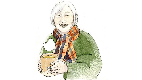 In Hiromi Goto's first graphic novel 'Shadow Life,' it's one tough old woman against death