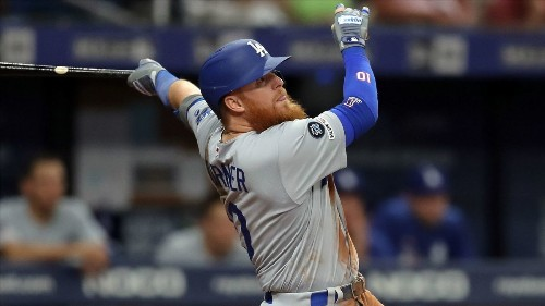 Dodgers take Justin Turner out of the lineup to keep him healthy