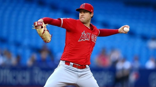 Tyler Skaggs dominates as Angels reach .500 in win over Blue Jays