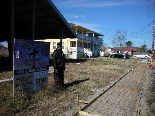 New Orleans' Lower 9th Ward is still marked by Hurricane Katrina