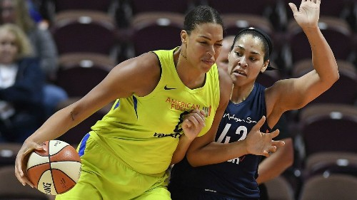 Liz Cambage wanted to join Sparks, but she's happy to land in Las Vegas
