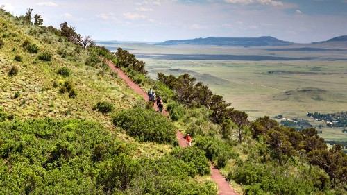 Road trip: In New Mexico, a volcano hike and Wild West history