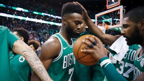 Jaylen Brown leads the Celtics to victory the day after the death of his best friend
