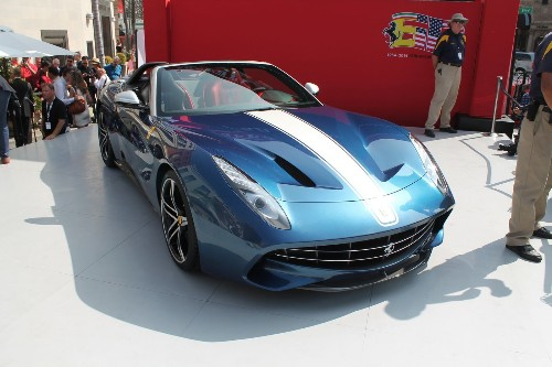 Ferrari shuts down Rodeo Drive for anniversary and all-new F60 debut