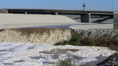Engineers up failure risk for dam protecting Disneyland, dozens of Orange County cities