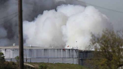 Cleanup of Houston Ship Channel proceeds after massive fire