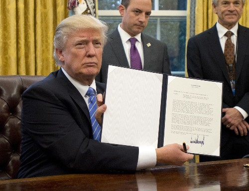 What Trump's moves on trade, abortion and federal hiring really do — and don't do - Los Angeles Times