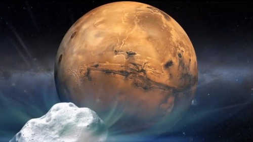 A comet is about to come very close to Mars, and NASA is ready