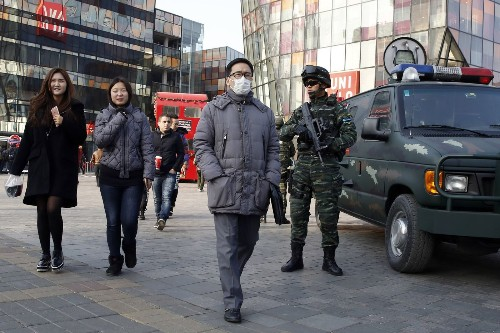 Westerners in Beijing warned of Christmas terrorism threat; parts of city locked down
