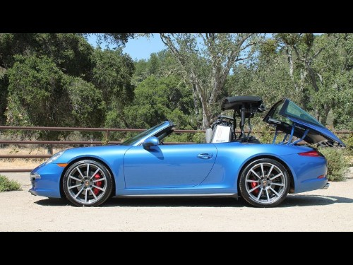 Review: Removable roof on Porsche 911 Targa 4S offers California-cool factor - Los Angeles Times