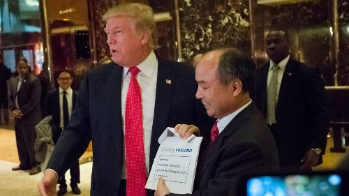 The SoftBank investment Trump touted looks pretty great for SoftBank