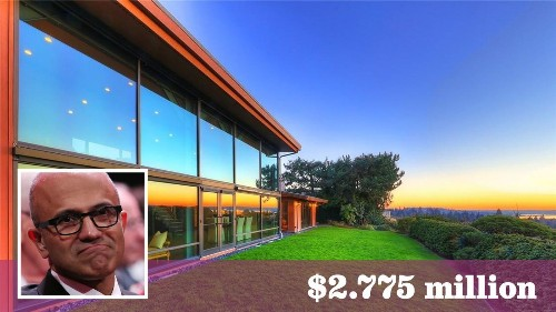 Microsoft CEO Satya Nadella sells Seattle-area home for $2.775 million - Los Angeles Times