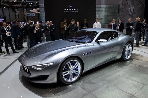 Geneva Motor Show: Maserati debuts Alfieri concept, hinting at future - Los Angeles Times