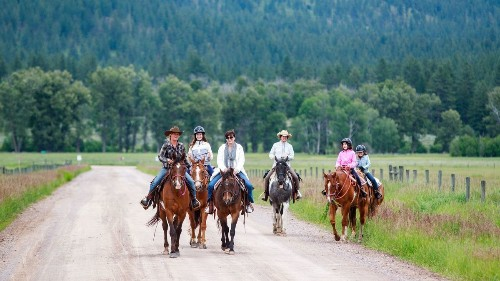 Hone your cowgirl skills at Montana resort's roundup