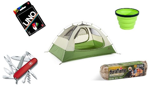 If you want to be a camper, you have to gear up for it. Here's the stuff you'll need