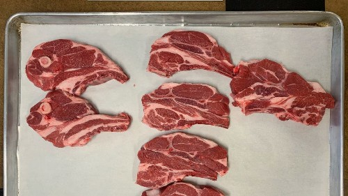 tl;dr: Lamb shoulder chops