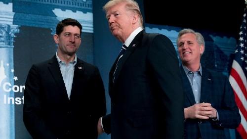 Trump touts GOP unity, but Congress is split ahead of shutdown, immigration deadlines - Los Angeles Times