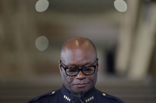 Dallas police chief lost son, brother and partner to violence