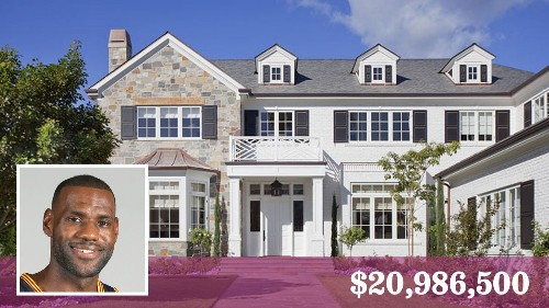 NBA star LeBron James buys a $20-million estate in Brentwood