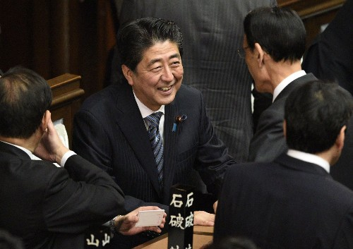 Japan parliament reelects Shinzo Abe as prime minister