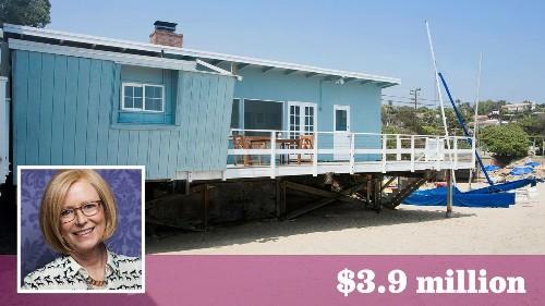 'Brady Bunch' actress Eve Plumb sells the Malibu home she bought at age 11