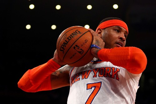 Carmelo Anthony opts out of final year of contract with Knicks