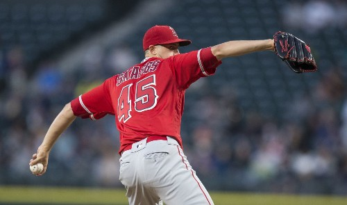 Right now, Angels have four established starting pitchers