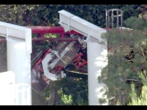 Six Flags roller coaster derailment: 'Cracking' noises, then screams