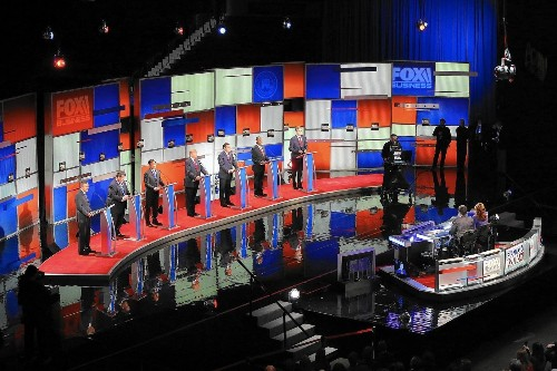 As the 2016 balloting nears, Republican debate takes on a barbed edge