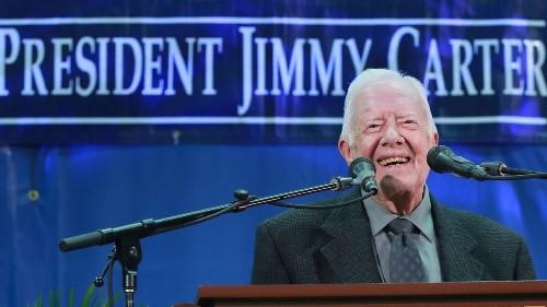 Jimmy Carter's new milestone: Longest-lived U.S. president