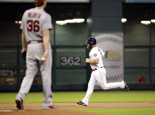 It's slow torture as Astros pound Jered Weaver and beat Angels 6-3 - Los Angeles Times