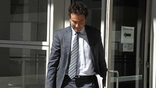 Tennis exec Justin Gimelstob pleads no contest in Halloween attack