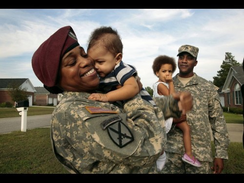 U.S. military and civilians are increasingly divided