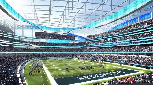 Column: Stan Kroenke ready to show NFL owners detailed Inglewood stadium plans