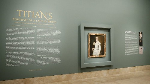 Titian masterpiece comes to the Norton Simon: 'Why Lady in White' is worth seeing in living color - Los Angeles Times