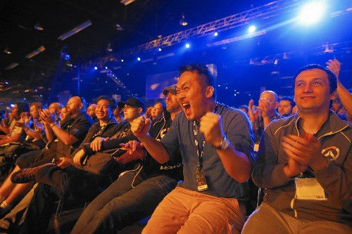 Building a bigger arena for video game competitions