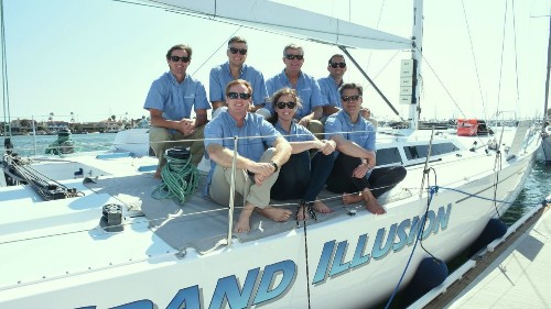 The Crowd: Members of the Whittier Trust sail in Transpac