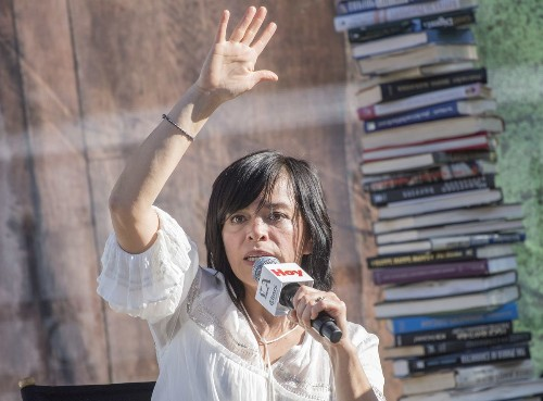 Journalist Anabel Hernandez demands answers for Mexico's missing 43 students