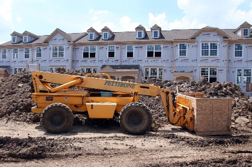 Housing starts fall in October but building permits hit six-year high