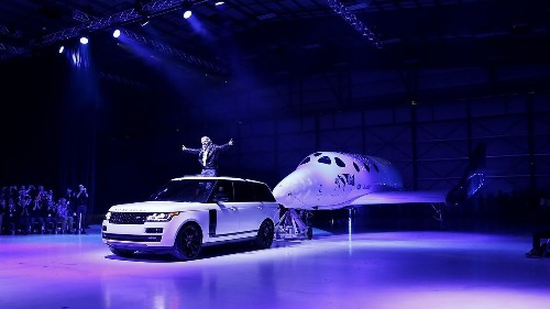 Virgin Galactic unveils its new SpaceShipTwo