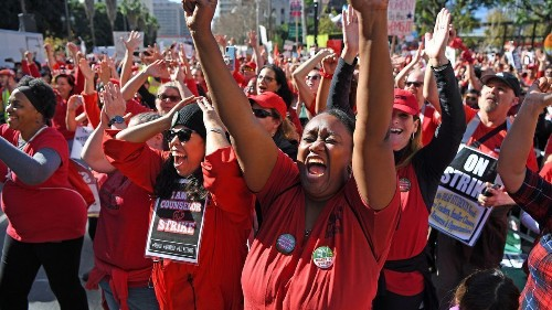 'The strike is over!' L.A. teachers celebrate their victories as contract is settled