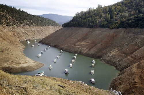 California has about one year of water stored. Will you ration now?